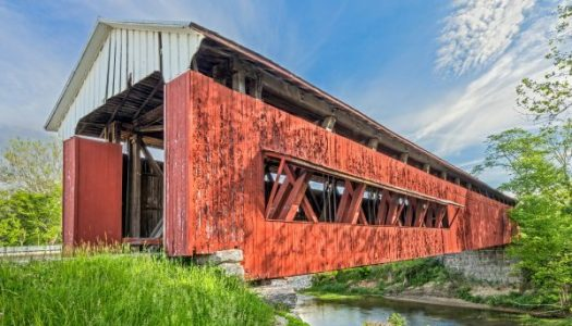Parke County Covered Bridge Christmas