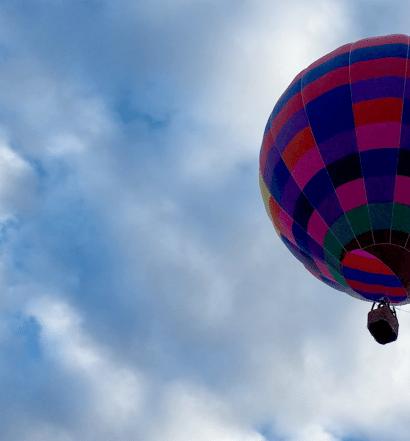 Hot Air Balloon in Rio Rancho, NM / © Melissa Martinez