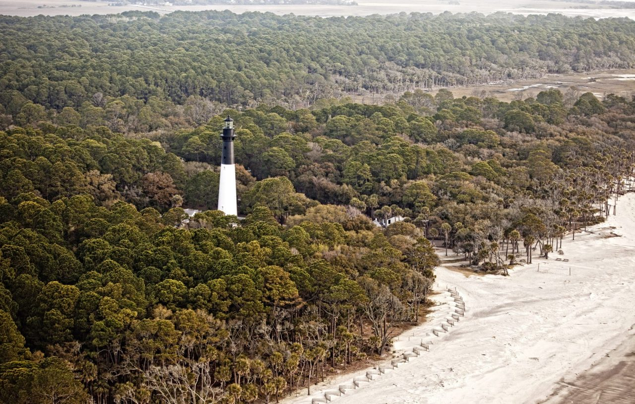 Hunting island lighthouse- south carolina state park
