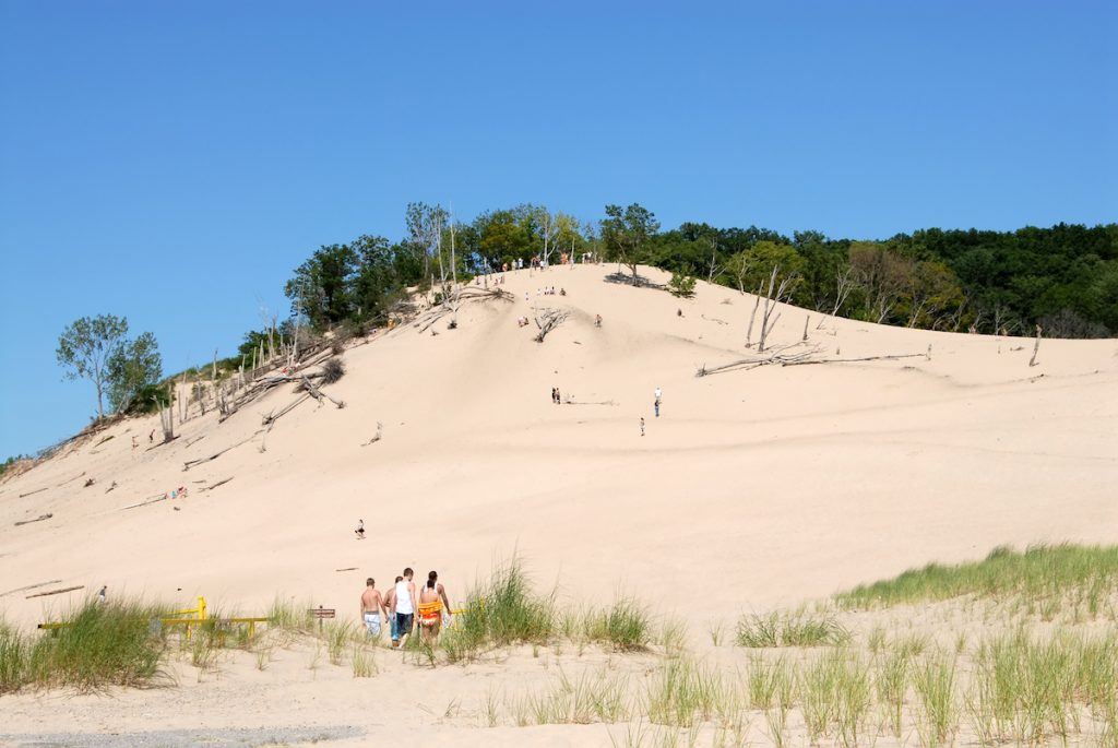 Warren Dunes State Park Lake Michigan