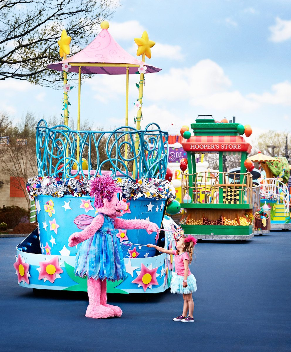 Things to do in Philadelphia with Kids: Photo courtesy Sesame Place®