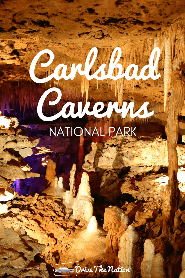 Explore underground geological formations at Carlsbad Caverns.