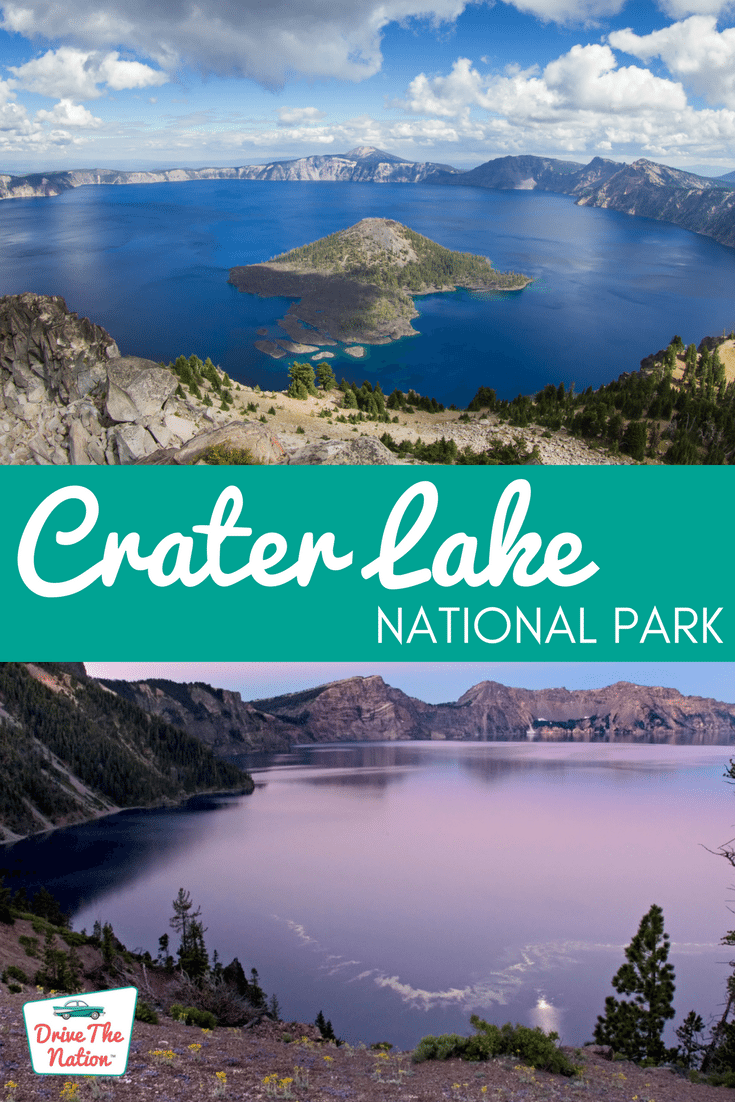 Crater Lake is one of the most beautiful sights in Oregon.
