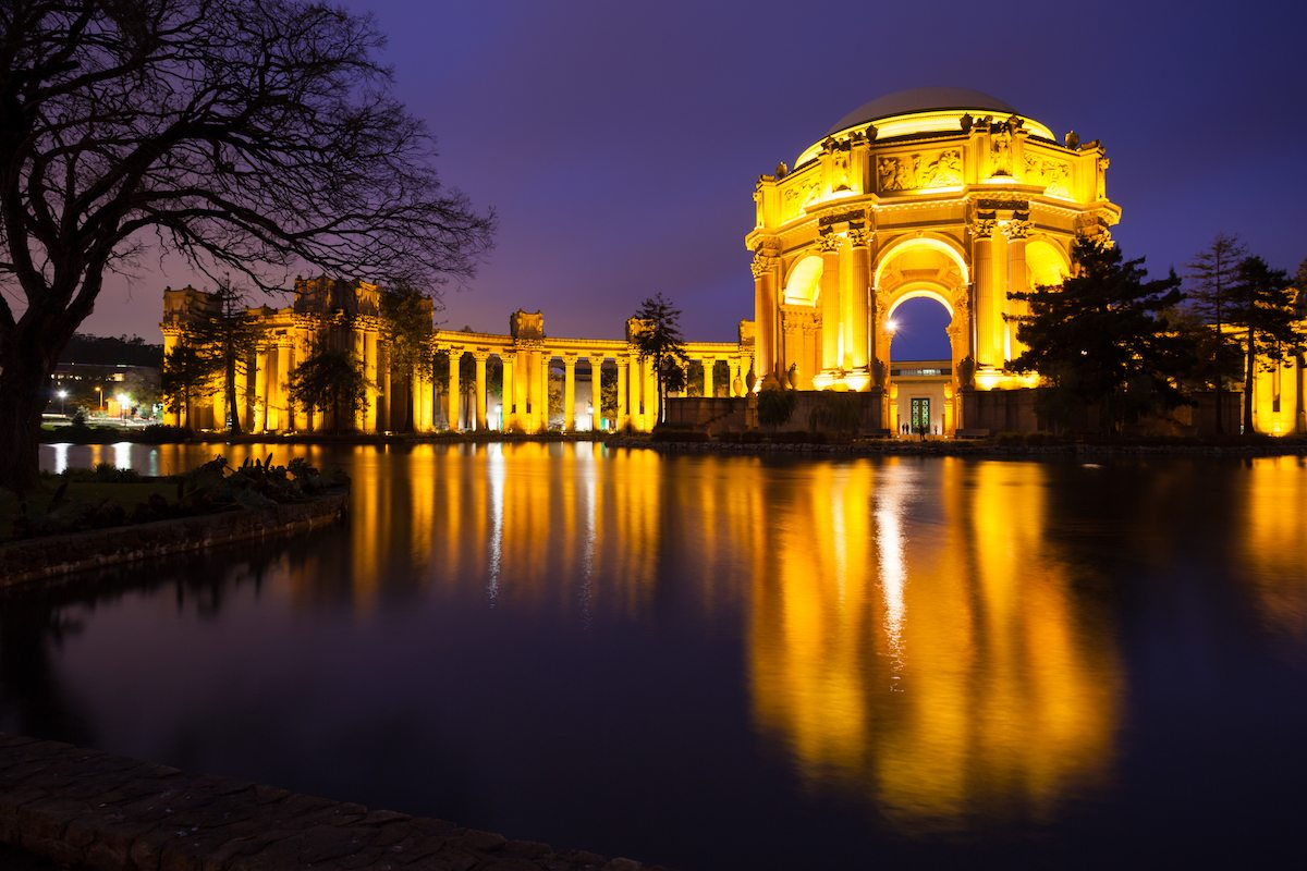 Golden Gate National Recreation Area: Palace Of Fine Arts Museum in Sn Francisco, CA