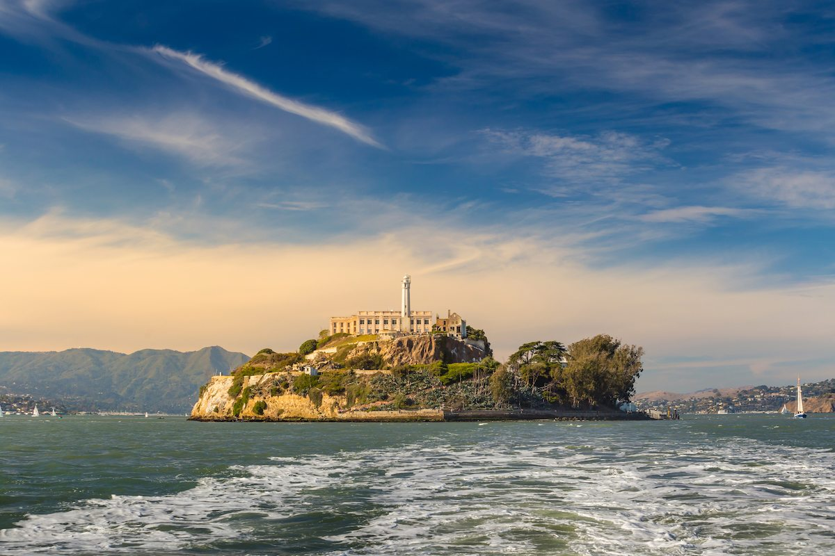 Golden Gate National Recreation Area: Alcatraz Island In San Francisco