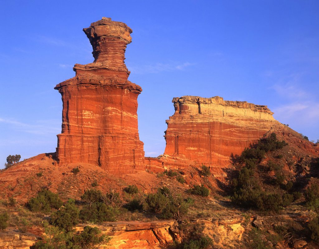 Light House Formation in Palo Duro