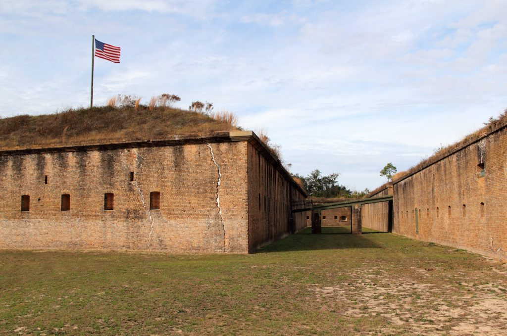 Fort Barrancas, Gulf Islands National Seashore, Pensacola, Florida