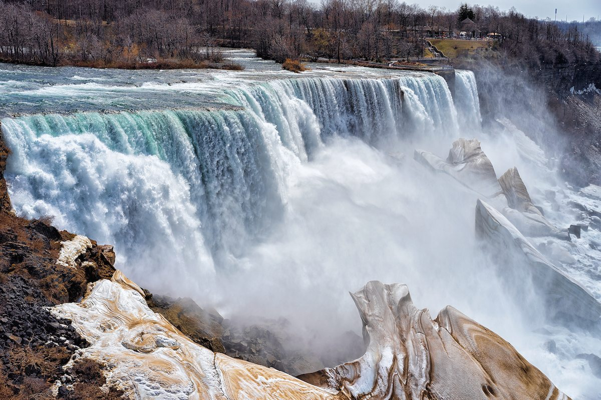 Niagara Falls State Park Drive The Nation