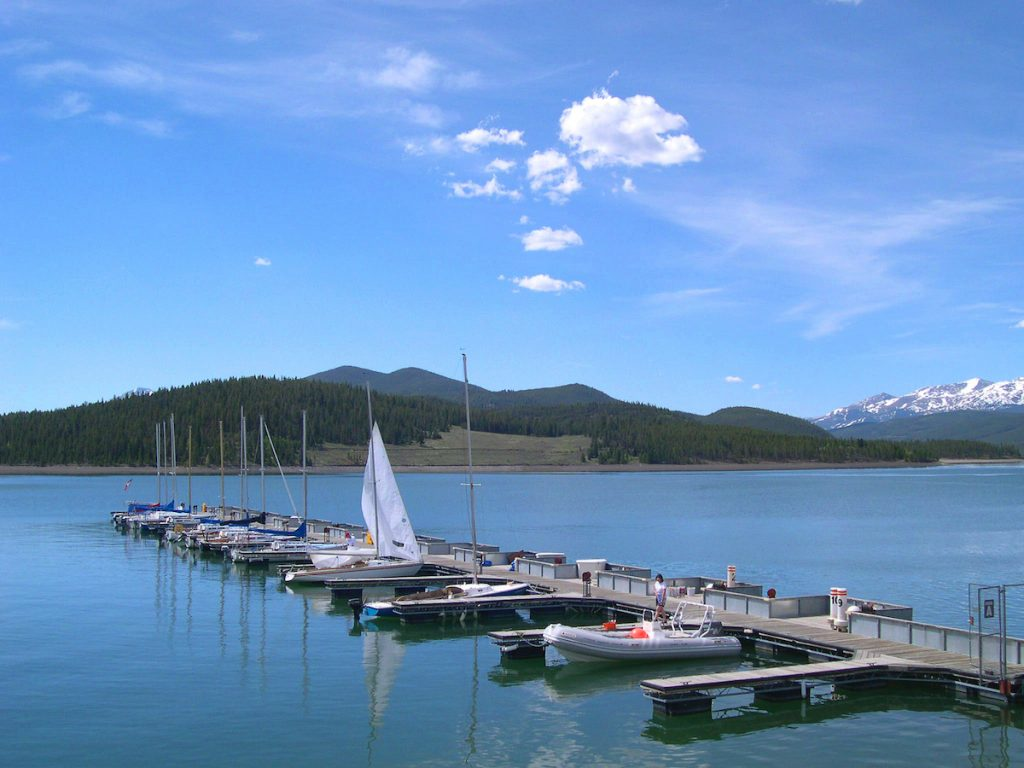 Quick guide to breckenridge co drive the nation for Dillon reservoir fishing