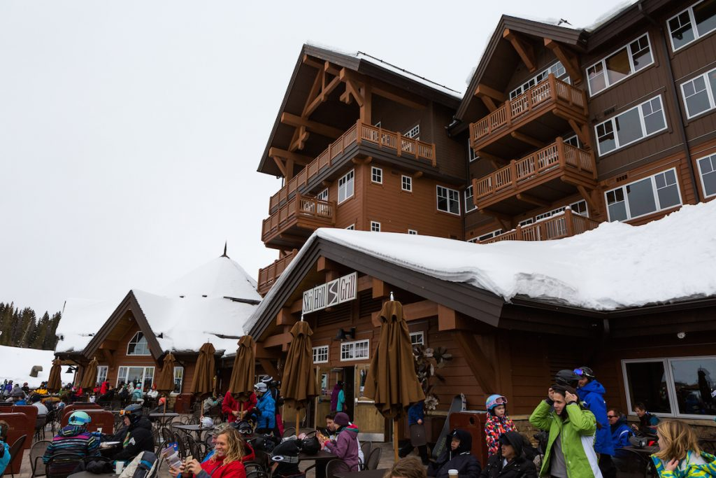 Breckenridge Skiing Lodge