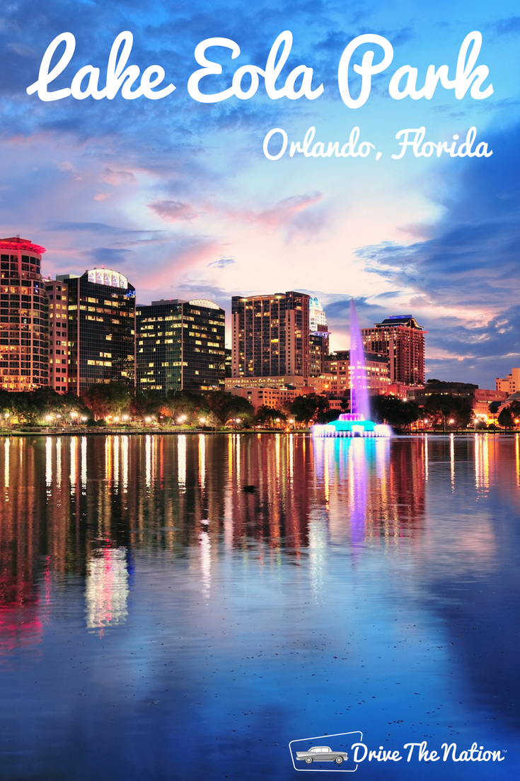 The cornerstone of Downtown Orlando, Lake Eola Park is a great place to spend an afternoon. Visit the Farmer's Market on Sundays or check out the restaurants around the park.