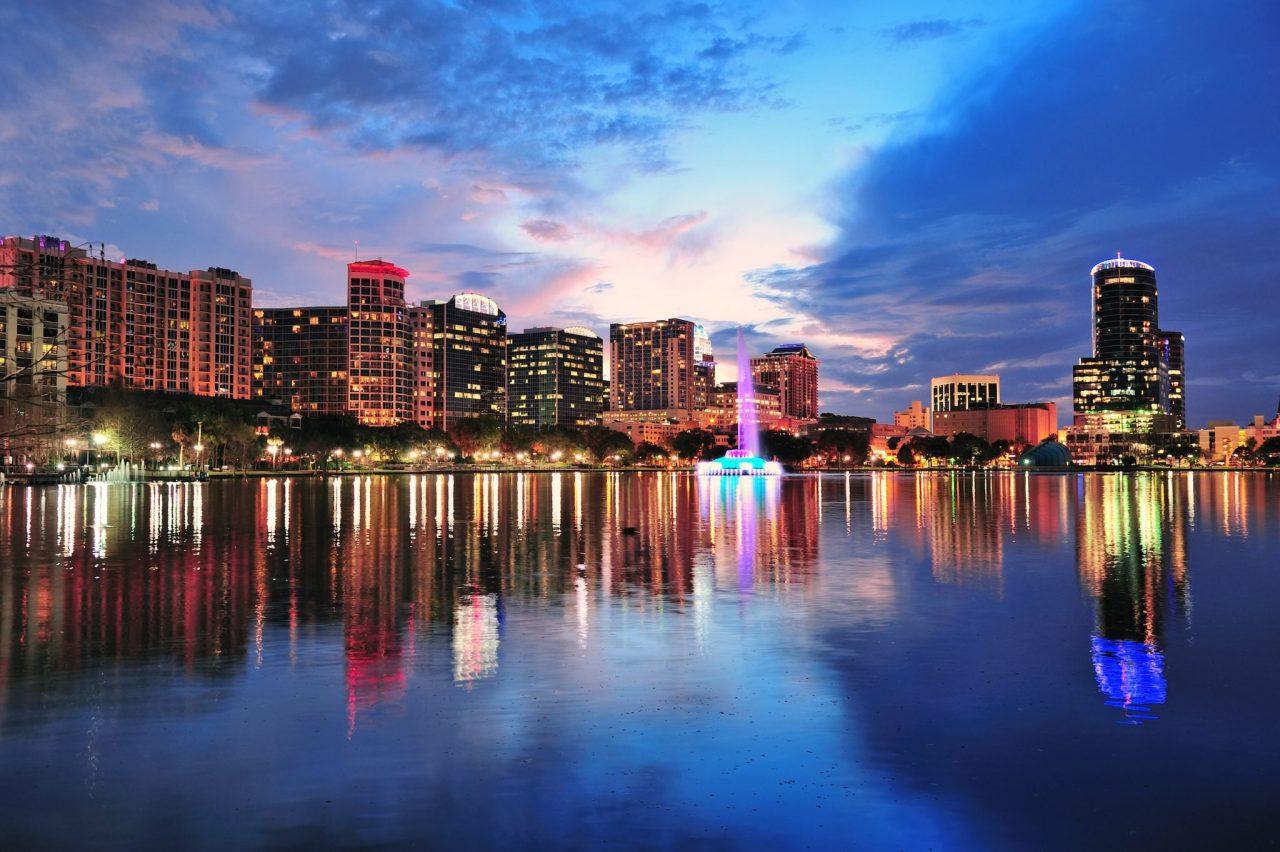 Orlando Downtown Lake Eola