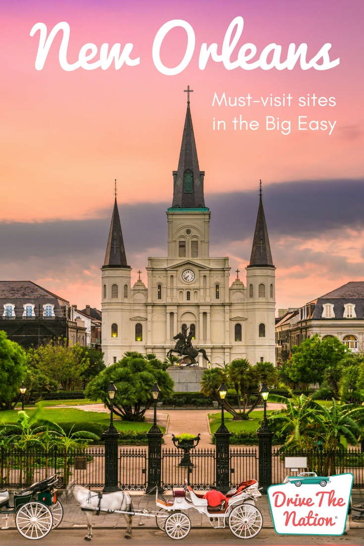 It's pretty easy to love the Big Easy. Whether you're exploring for a few hours or a few days, the historic charm, friendly locals and mouthwatering food and drink, you're sure to have a great time