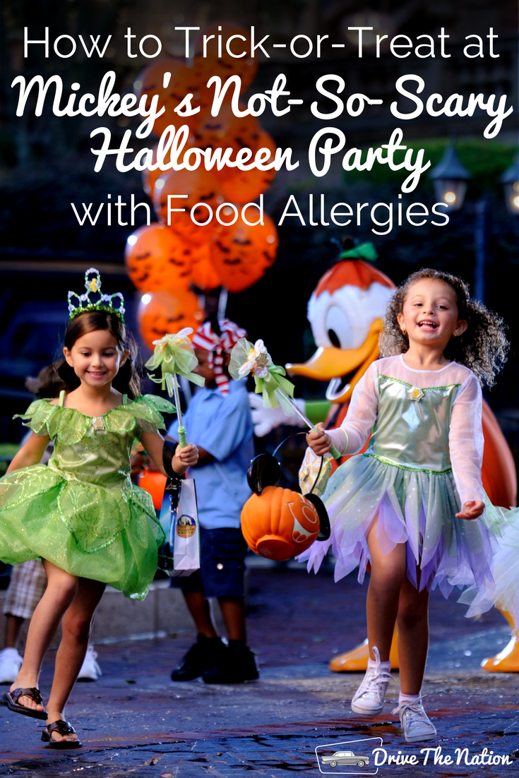 Halloween can be a frightening time for parents of children with food allergies. Stay safe and trick-or-treat at Mickey's Not-So-Scary Halloween Party.