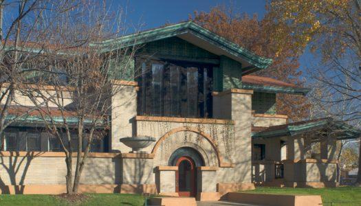Visiting the Dana-Thomas House in Springfield, Illinois