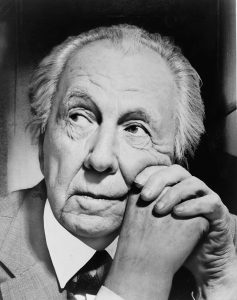 Picture of Frank Lloyd Wright, American Architect