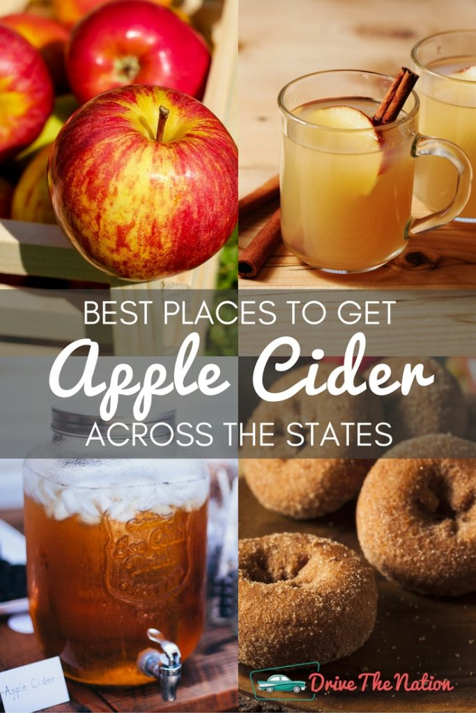 Best Places to Get Apple Cider Across the States Pin