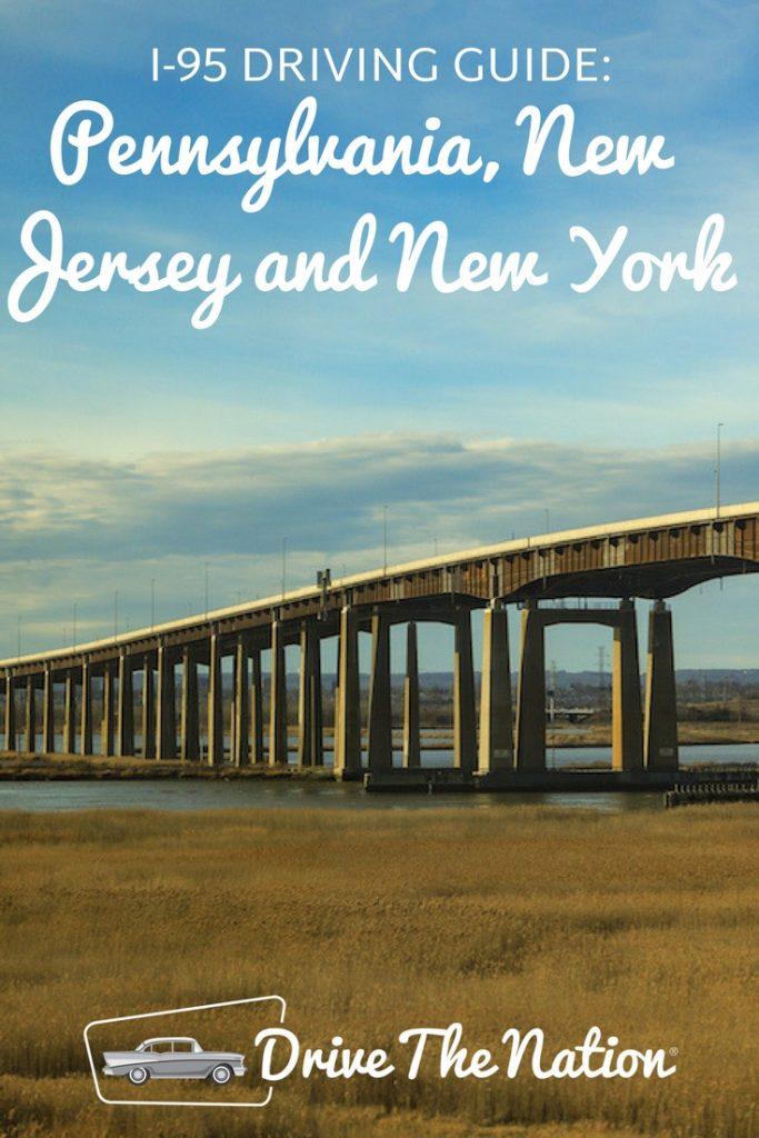 I95 Driving Guide_ PA, NJ and NY Pin