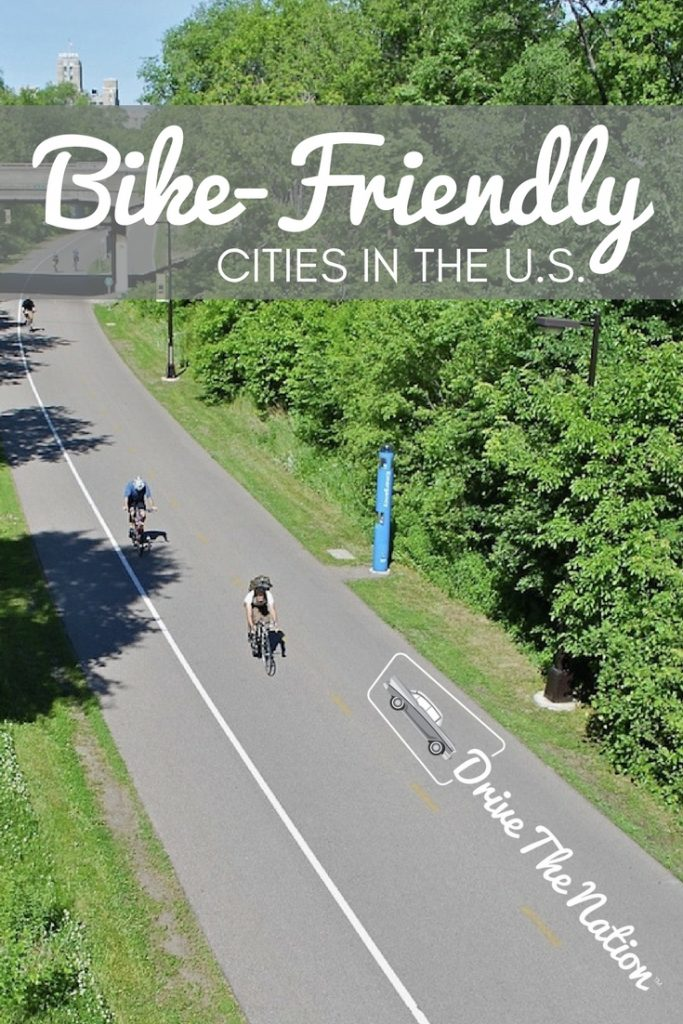 Bike-Friendly Cities in the U.S. Pin