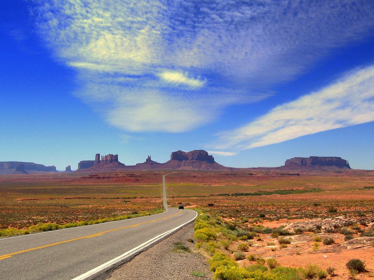 Visiting Monument Valley Utah Drive The Nation