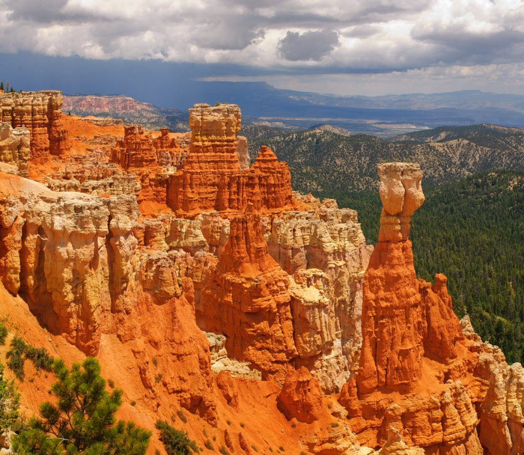 Vista of Bryce Canyon National Park in Utah