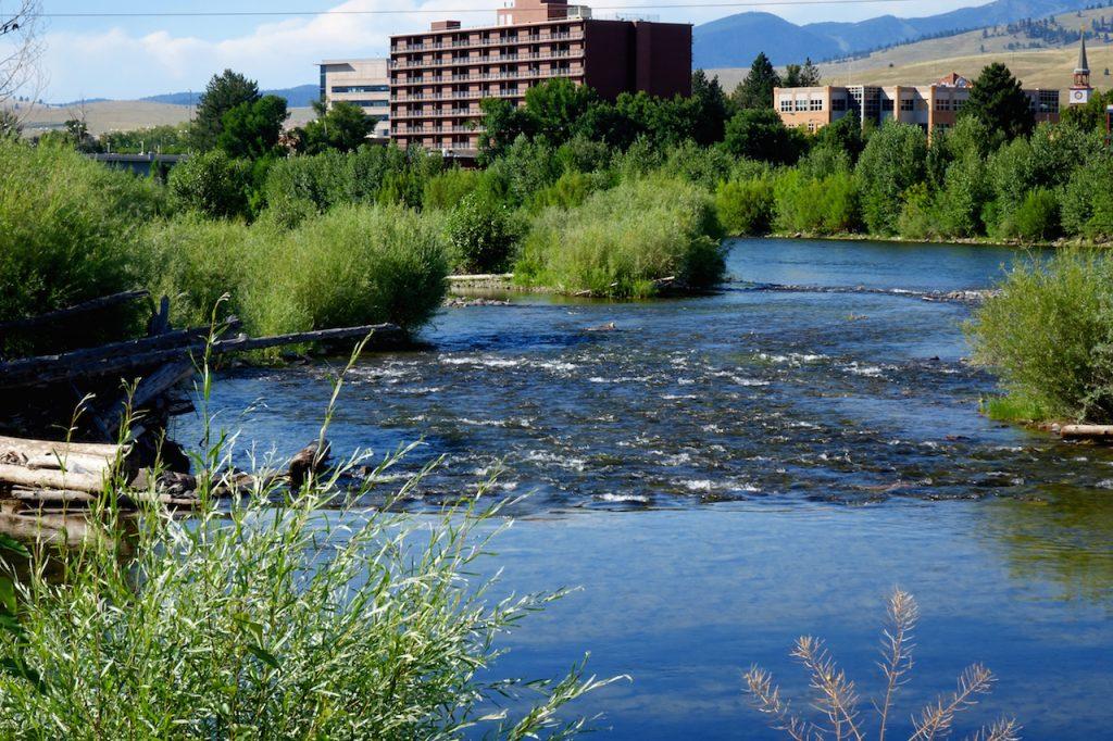 Clark Fork River in Missoula, Montana
