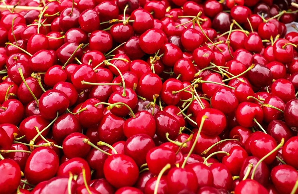 screen filled with nothing but cherries