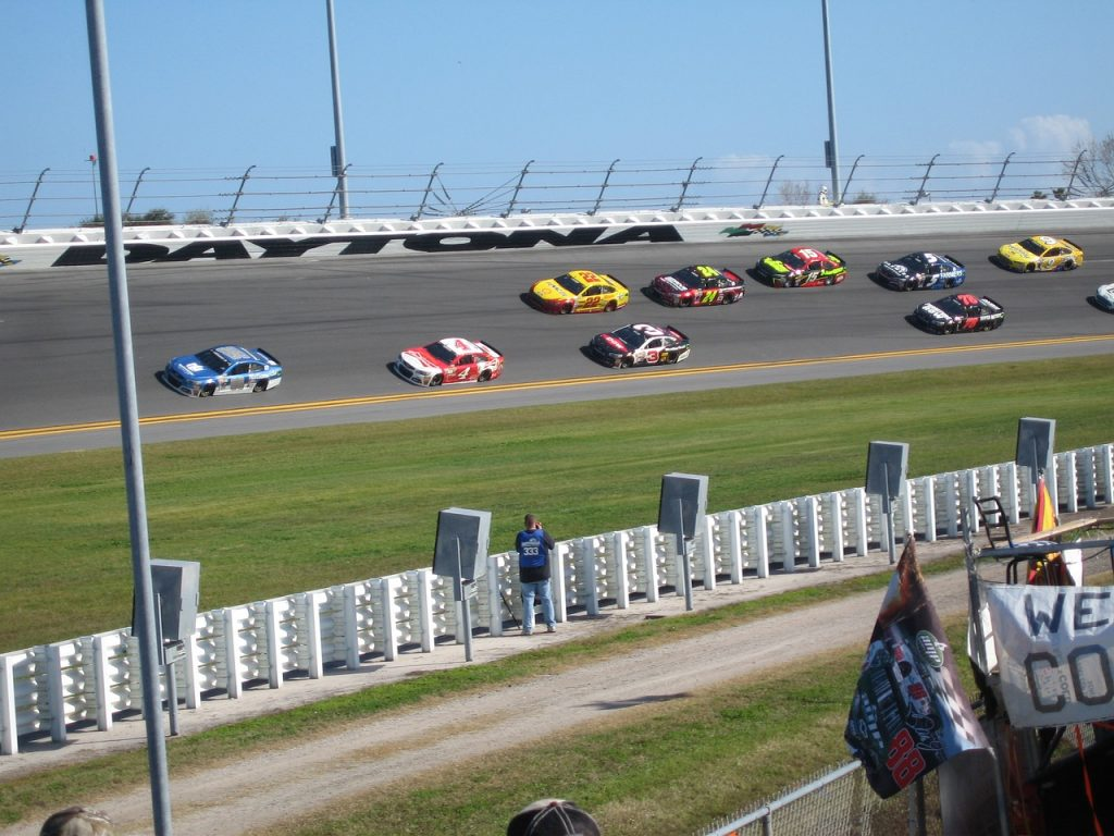 Daytona International Speedway in Daytona, Florida
