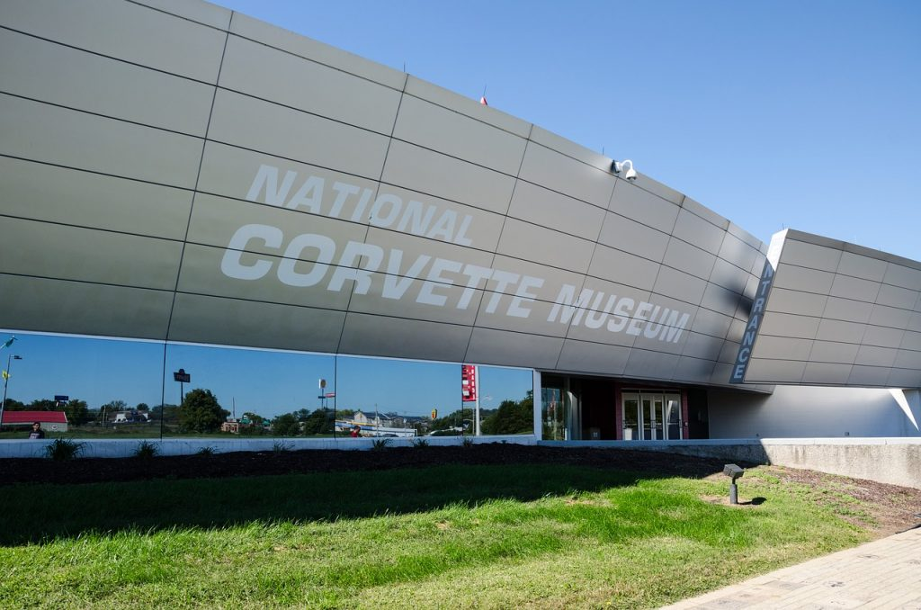 National Corvette Museum in Bowling Green, Kentucky