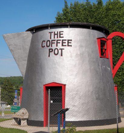 Giant Roadside Coffee Pot