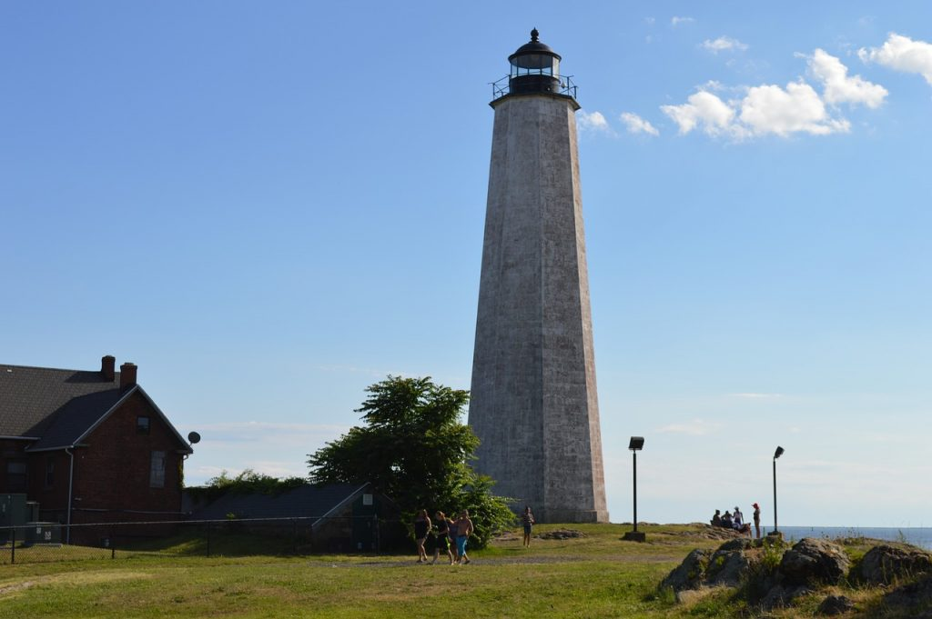 5 mile point lighthouse in New Haven, CT