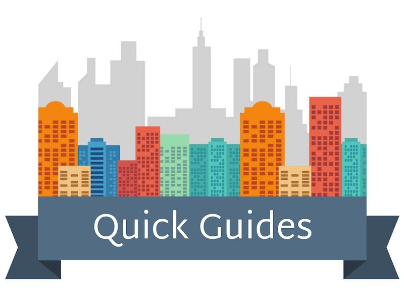 Quick Guides Skyline Banner